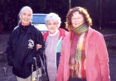 Jane Goodall, Irene & Loraine.jpg