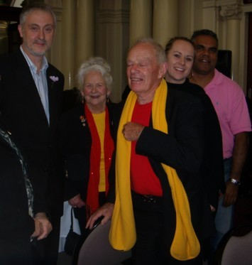 Jean Williamson meets Gavin Jennings the Victorian Minister for Aboriginal Affairs